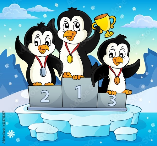 Penguin winners theme image 3