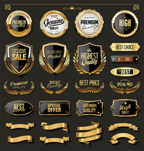Luxury Gold And Black Design E...