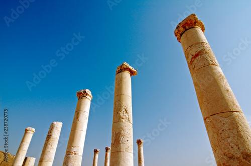 Photo  Israel, Bet Shean columns