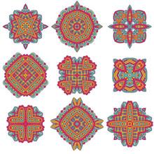 Talavera Pattern. Azulejos Portugal. Turkish Ornament. Moroccan Tile Mosaic. Ceramic Tableware, Folk Print.