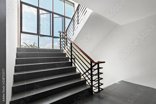 Obraz na płótnie stair in modern building
