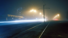 Evening Fog On The Streets Of ...