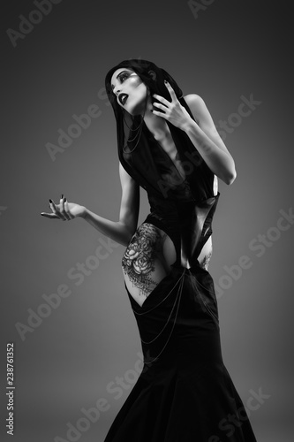 Photographie Ritual of a priestess
