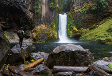 Toketee Falls, Umpqua National...