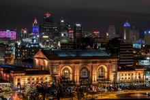 Kansas City's Union Station After Dark