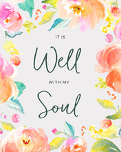 It Is Well With My Soul Backgr...