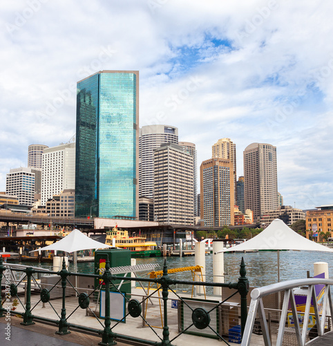 Foto  View of Circular Quay, Sydney, New South Wales, Australia.