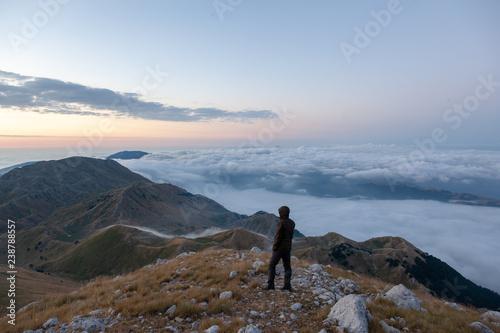 Photo Nuvole Montagne