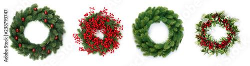 Fotografiet Christmas wreath