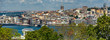 Ciudad de vieja de Estambul con Bósforo,Turquia.