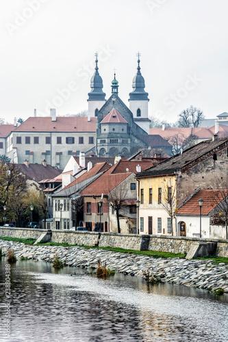 Papiers peints Con. ancienne Jewish quarter and chateau, Trebic, Czech republic