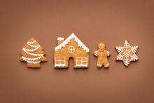 Various Christmas Gingerbread ...