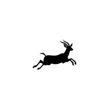 Gazella Vector Icon. Gazella S...