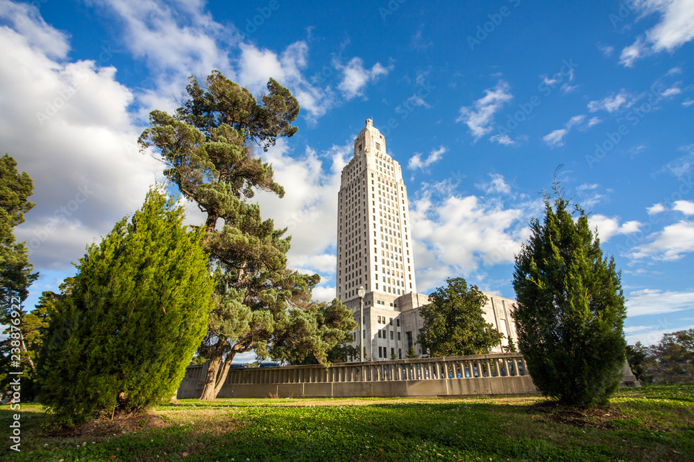 Fototapety, obrazy: The State Capitol at Baton Rouge Louisiana USA