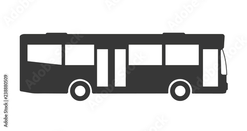 Fototapeta Bus icon Vektor Illustration Piktogramm