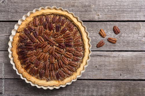 Fotomural Autumn american pecan pie