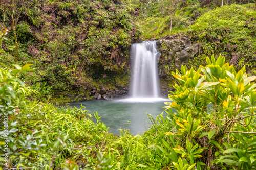 Puaa Kaa Falls in Maui, Hawaii Canvas Print