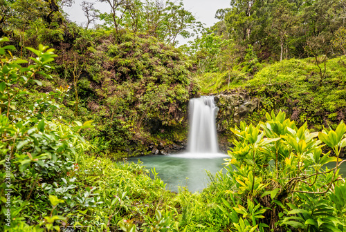 Photo Puaa Kaa Falls in Maui, Hawaii