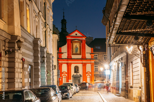 Fototapeta Krakow, Poland. Church Of Sts. John the Baptist and John the Eva obraz