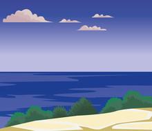 Beach And Island Scenery