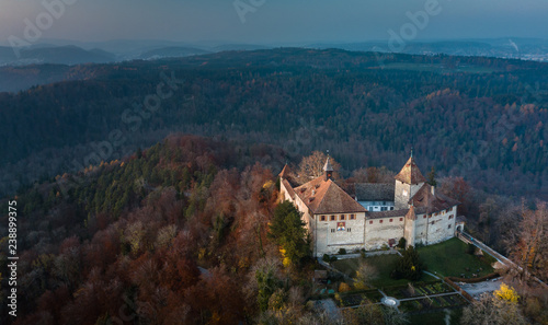 Photo Kyburg castle located between Zurich and Winterthur, Switzerland