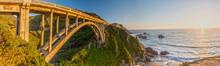 Panorama Of Bixby Creek Bridge...