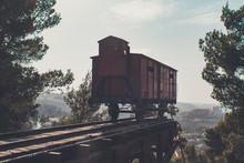 A Railway Death Wagon In Which...