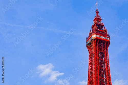 Foto  Blackpool Tower at Blackpool