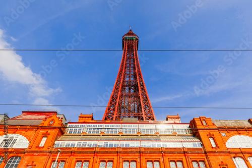 Foto  Blackpool Tower at Blackpool