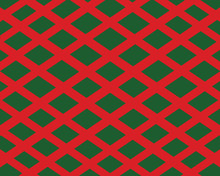 Background-Green And Red Stripes