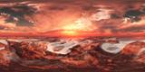 Mars, HDRI, environment map , Round panorama, spherical panorama, equidistant projection, 360 high resolution panorama