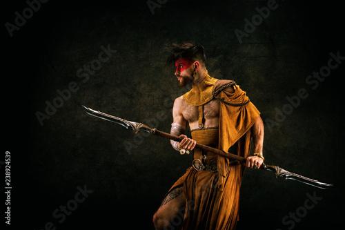 Foto Tribal warrior