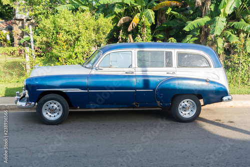 Türaufkleber Autos aus Kuba Streets of Cuba