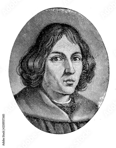 Nicolaus Copernicus (1473 – 1543) mathematician and astronomer who formulated a Canvas Print