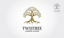 Twistree Vector Logo Template....