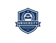 University College School Logo Template