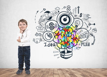 Thoughtful Little Boy, Business Idea