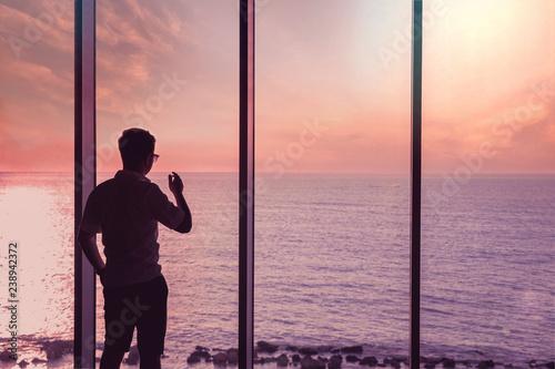 Entrepreneur penthouse business trading lifestyle