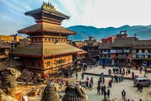 Taumadhi Square, Bhaktapur, Ne...