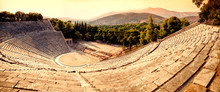Epidavros Amphitheater In Greece