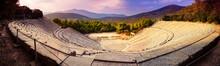 Epidavros Amphitheater In Greece
