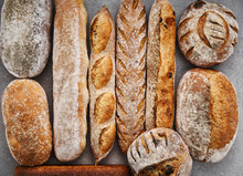 Loaves Of Artisanal Breads