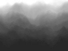 Black Abstract Background. Fog...