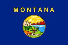 Flag Of Montana U.S. State Flag