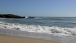 The Pacific Ocean at Half Moon Bay State Beach, Santa Cruz County, California, USA, 2018