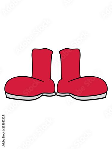 Weihnachten Clipart.2 Schuhe Stiefel Anziehen Klamotten Schuhe Weihnachten Winter Kalt