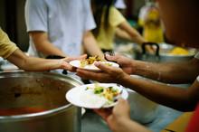 Hand-feeding To The Needy In S...