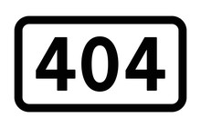 HTTP 404 Page Not Found Response Code Line Art Vector Icon For Apps And Websites