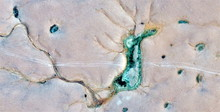 Hippocampus, Seahorse In The Sahara, Abstract Photography Of The Deserts Of Africa From The Air. Aerial View Of Desert Landscapes, Genre: Abstract Naturalism, From The Abstract To The Figurative,