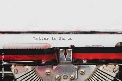 Foto op Aluminium Typewriter vintage style text